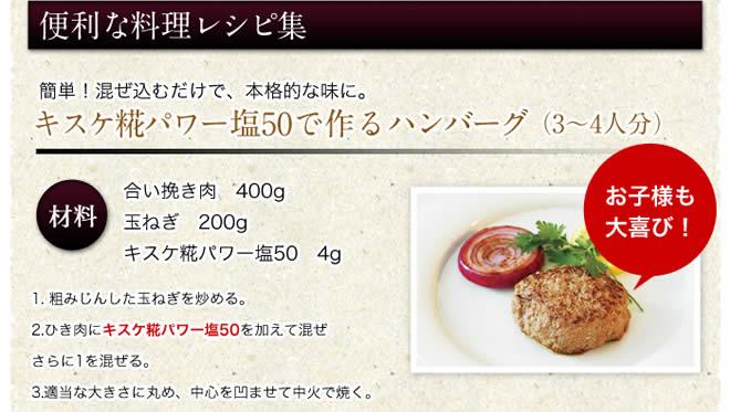 便利な料理レシピ集 ハンバーグ